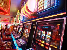 Slot Machine in un casino
