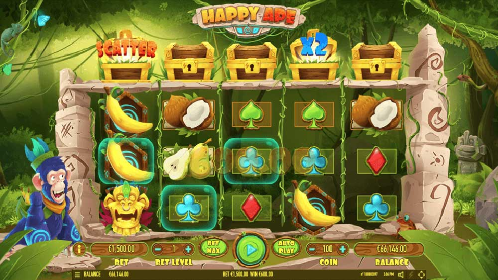 Slot Happy Ape online