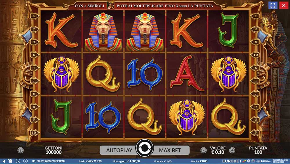 Slot Book of Egypt online