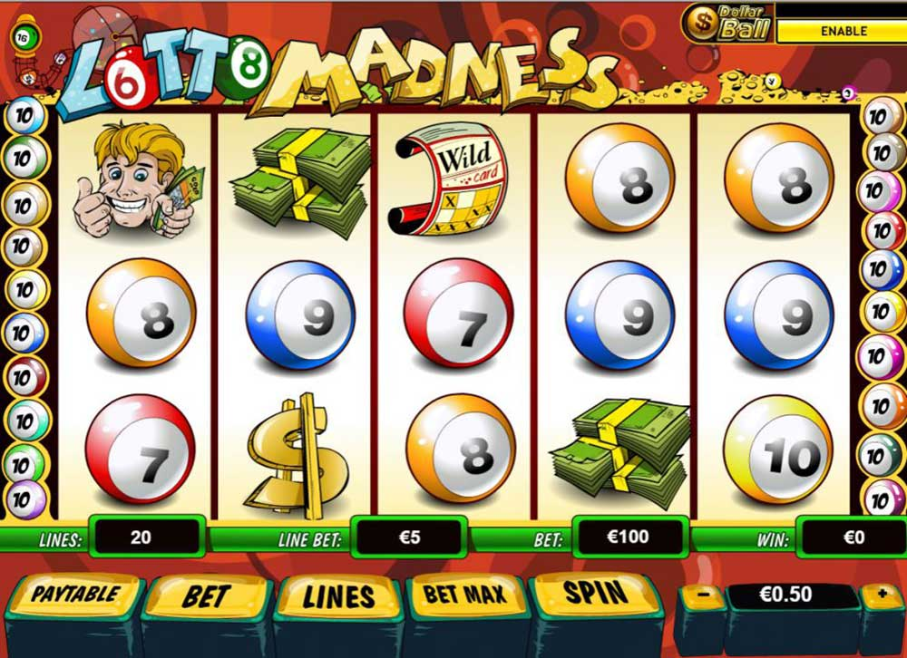 lotto madness slot online