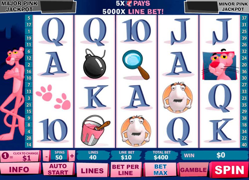 Slot Pink Panther online