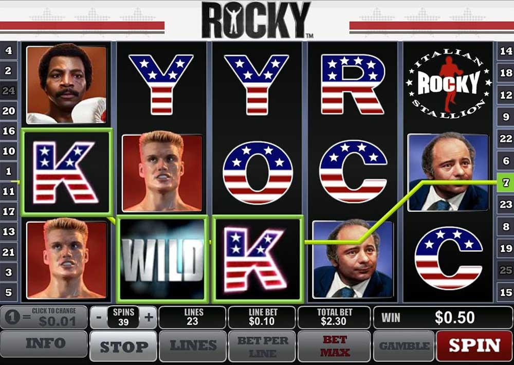 Slot Rocky online