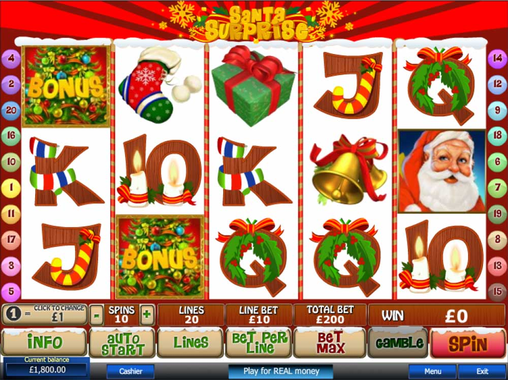 Slot Santa Surprise online