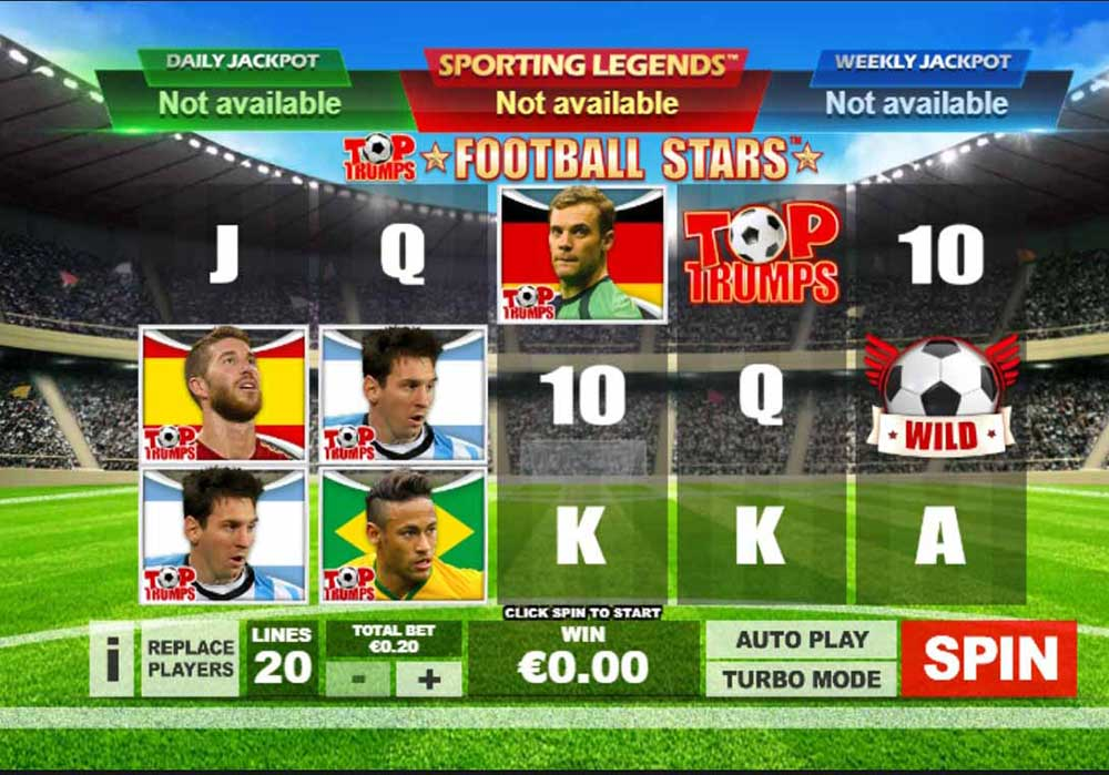 Slot Top Trumps Football Stars online