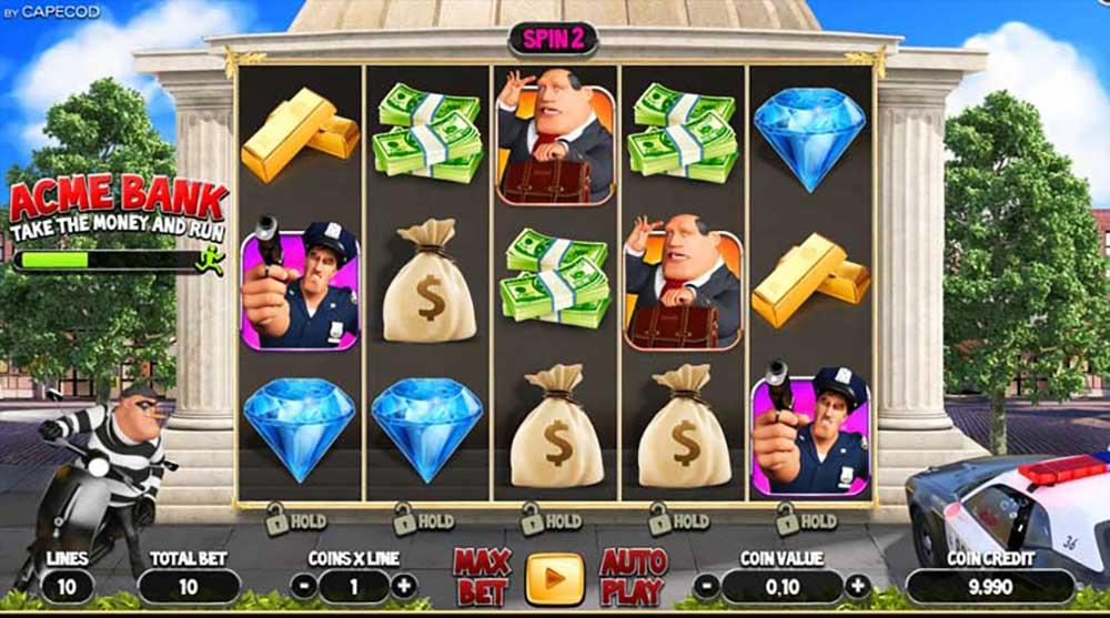 acme bank slot online