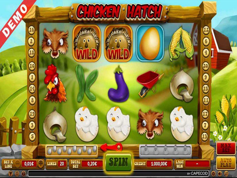 slot chicken hatch