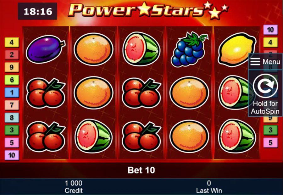 power stars slot