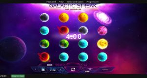 galactic streak slot