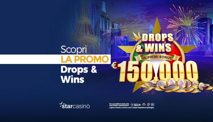 starcasino torneo drop and wins