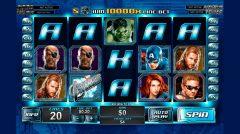 Avengers slot machine con jackpot