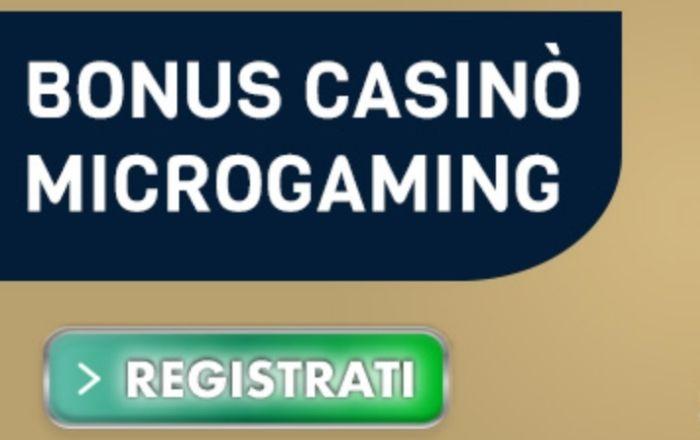 100 € senza deposito su slot machine Microgaming con Betflag