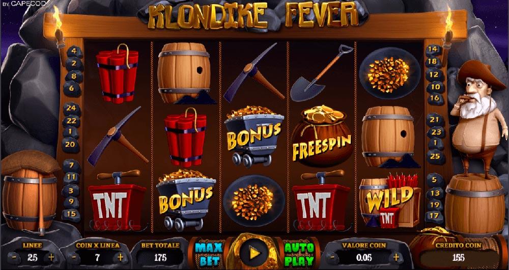 Klondike Fever slot