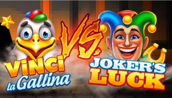 Fino a 20.000 in palio su Joker's Luck o Vinci la Gallina su Goldbet Casino