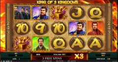 Slot machine King of 3 Kingdoms
