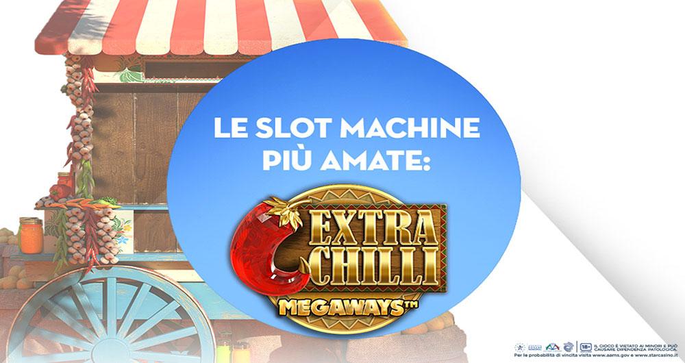 Vinti a maggio 271.586 euro con la slot Extra Chilli di Starcasinò