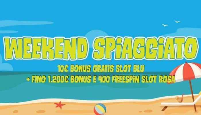 Weekend spiaggiato con Best in Game casino