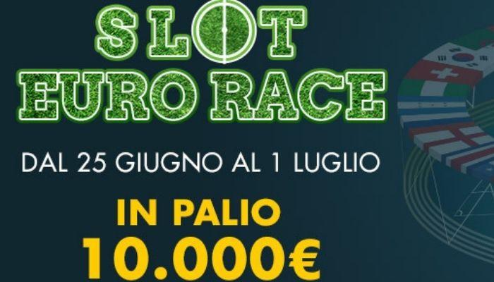 Slot Eurorace con in palio fino a 10.000 € su Lottomatica